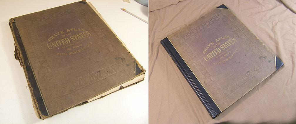 book restoration, book repair, binding repair, bookbinding