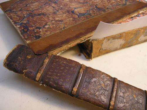 Conservation and restoration of books, manuscripts, documents and ephemera